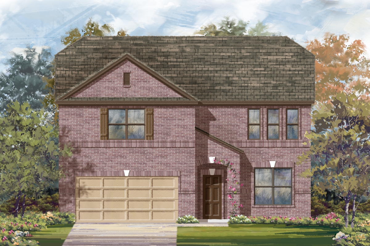 New Homes in San Antonio, TX - Elevation B