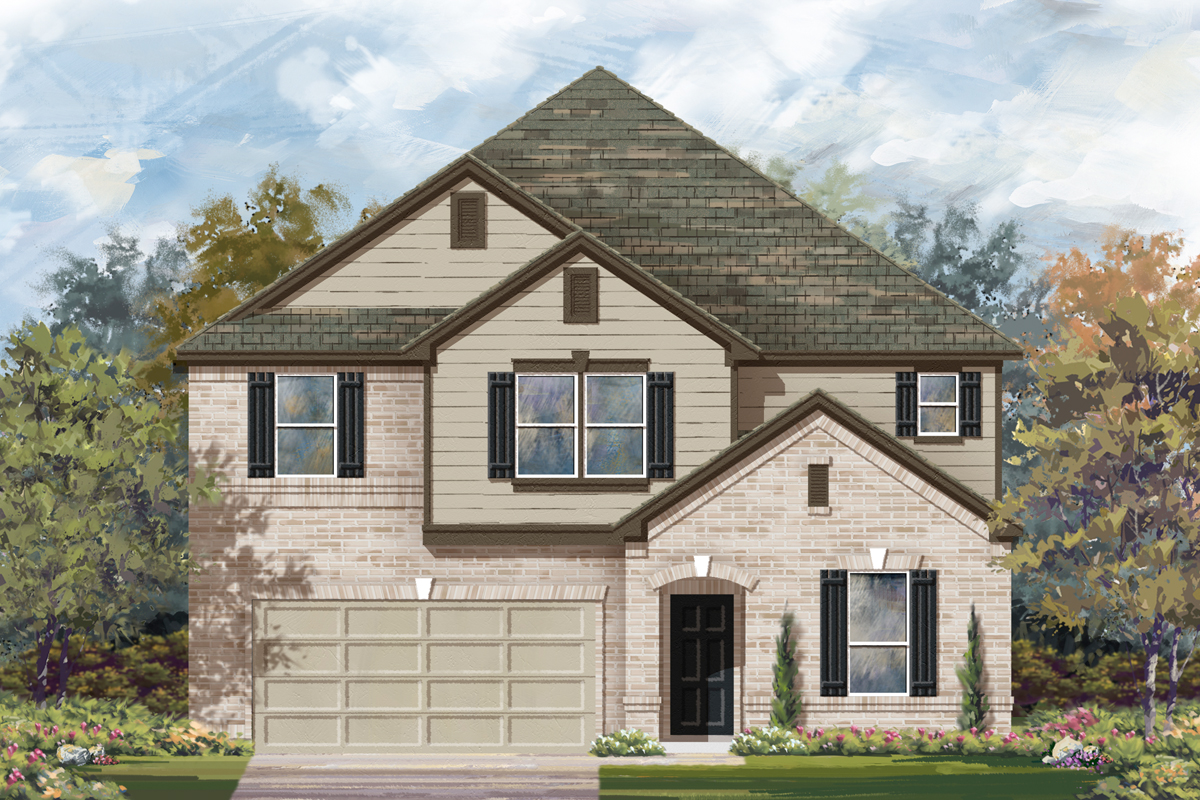 New Homes in San Antonio, TX - The 3475 B