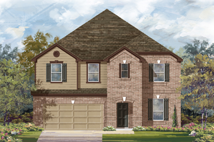 New Homes in Bulverde, TX - The 3699 B