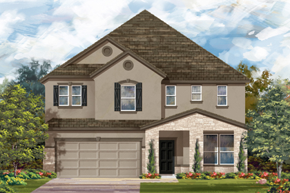 New Homes in Bulverde, TX - The 3699 D