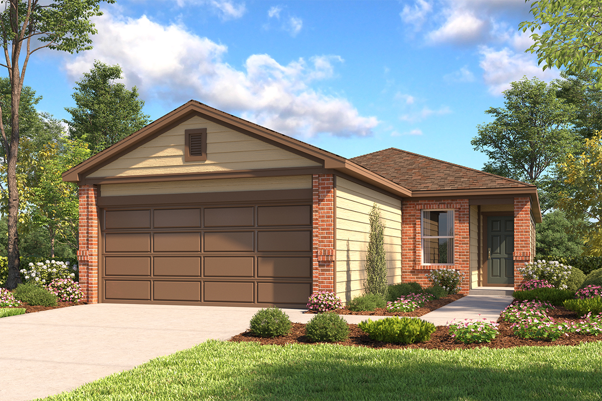 New Homes in San Antonio, TX - The 1378 B