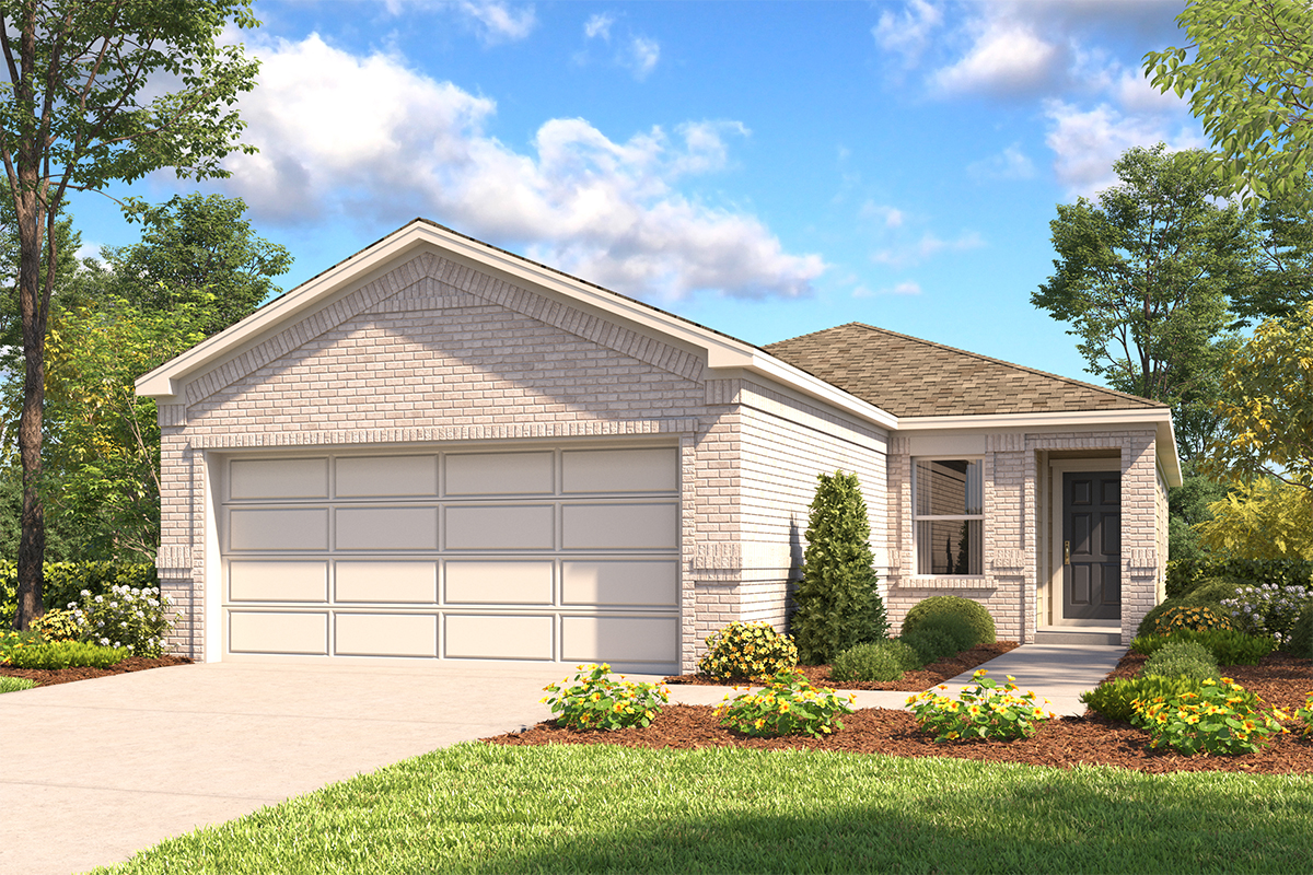 New Homes in New Braunfels, TX - Deer Crest - Heritage Collection Plan 1378