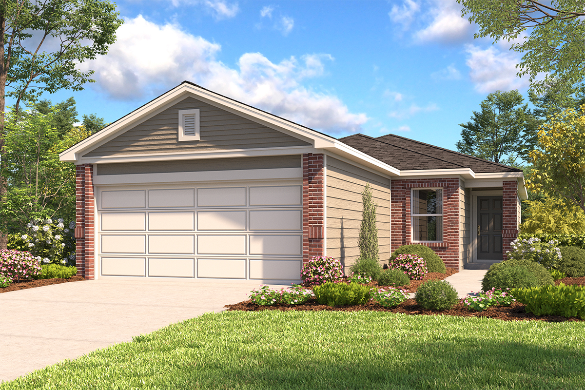 New Homes in New Braunfels, TX - The 1549 B