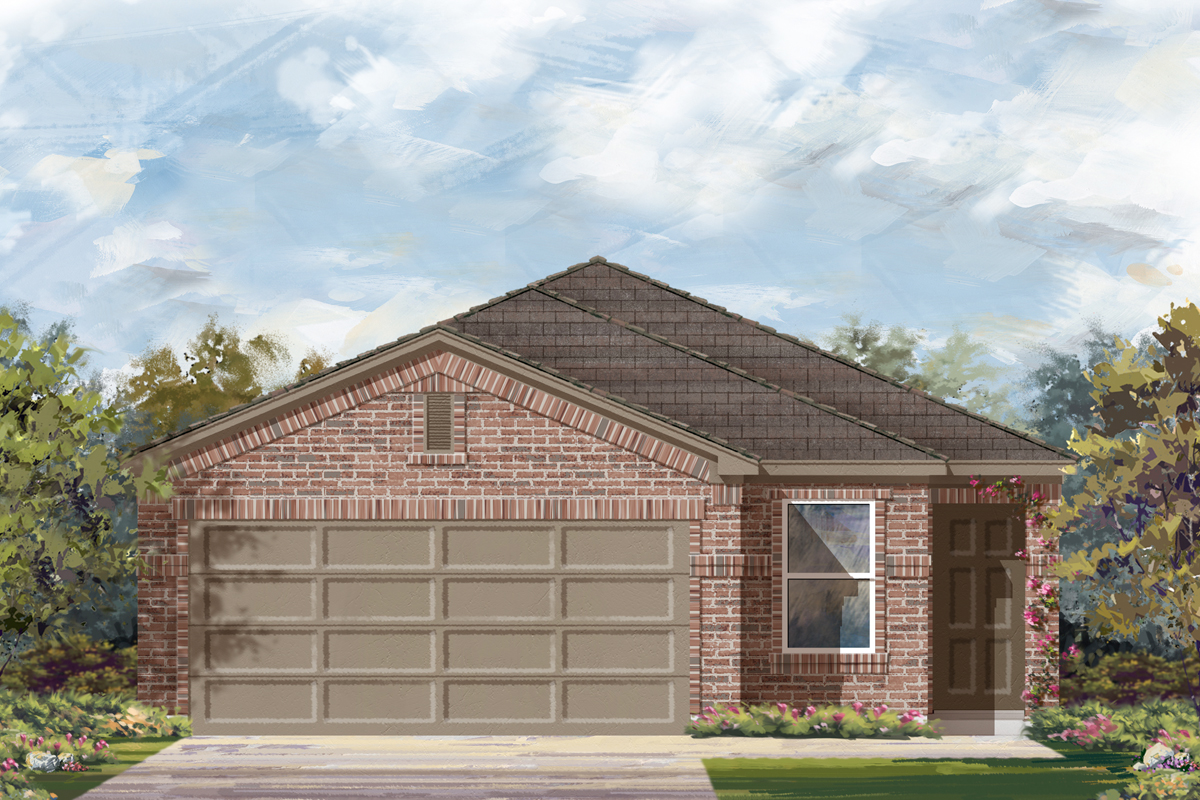 New Homes in New Braunfels, TX - The 1585 C