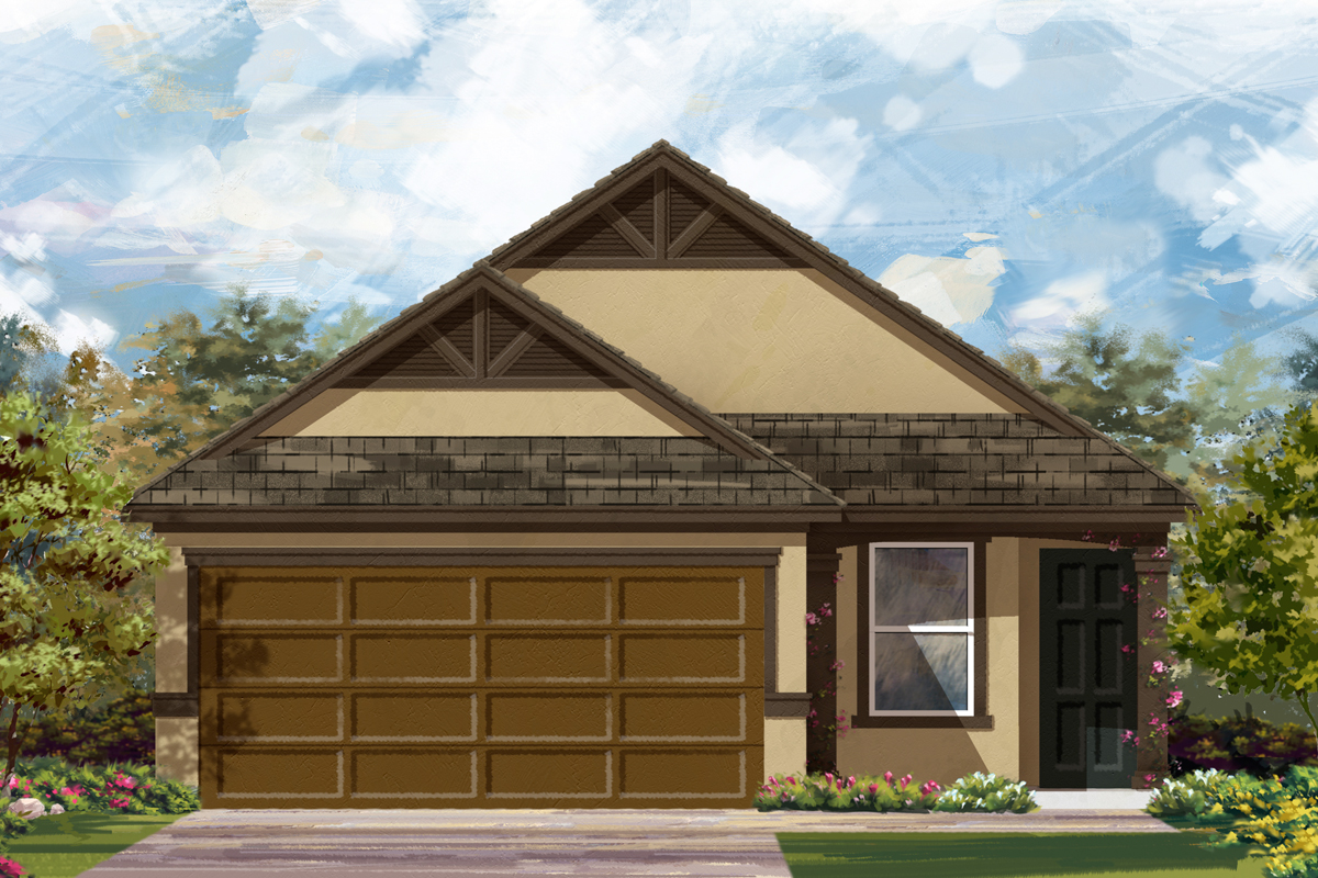New Homes in New Braunfels, TX - The 1585 D