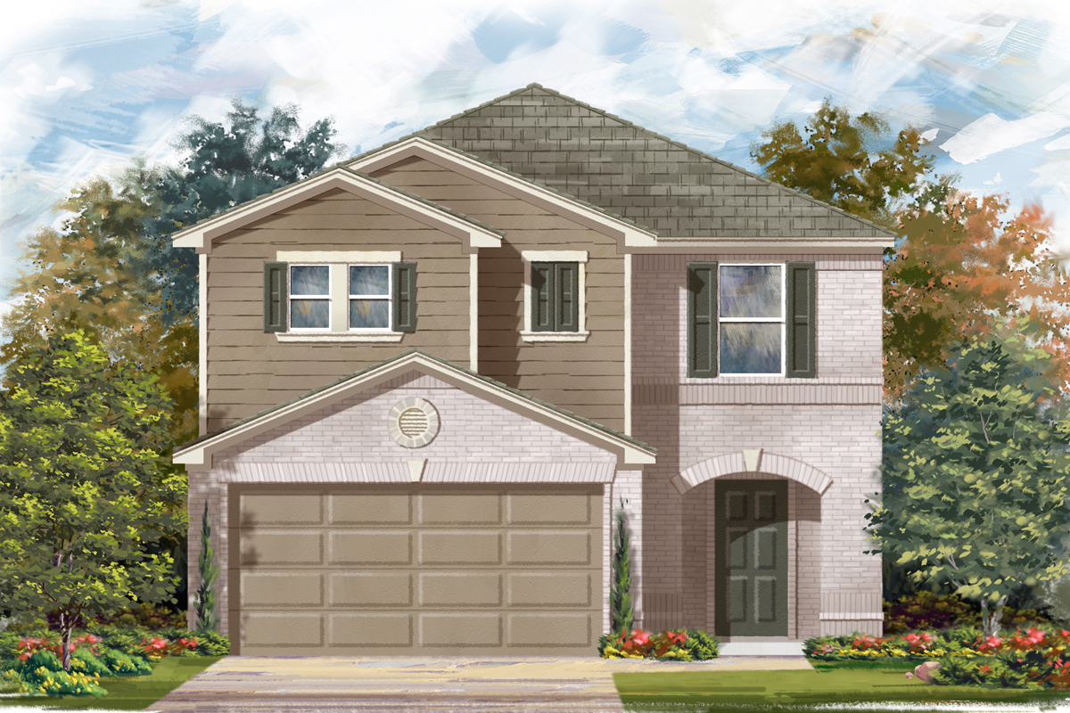 New Homes in San Antonio, TX - Plan 2038 C