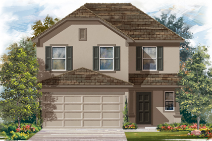 New Homes in San Antonio, TX - The 2239 D