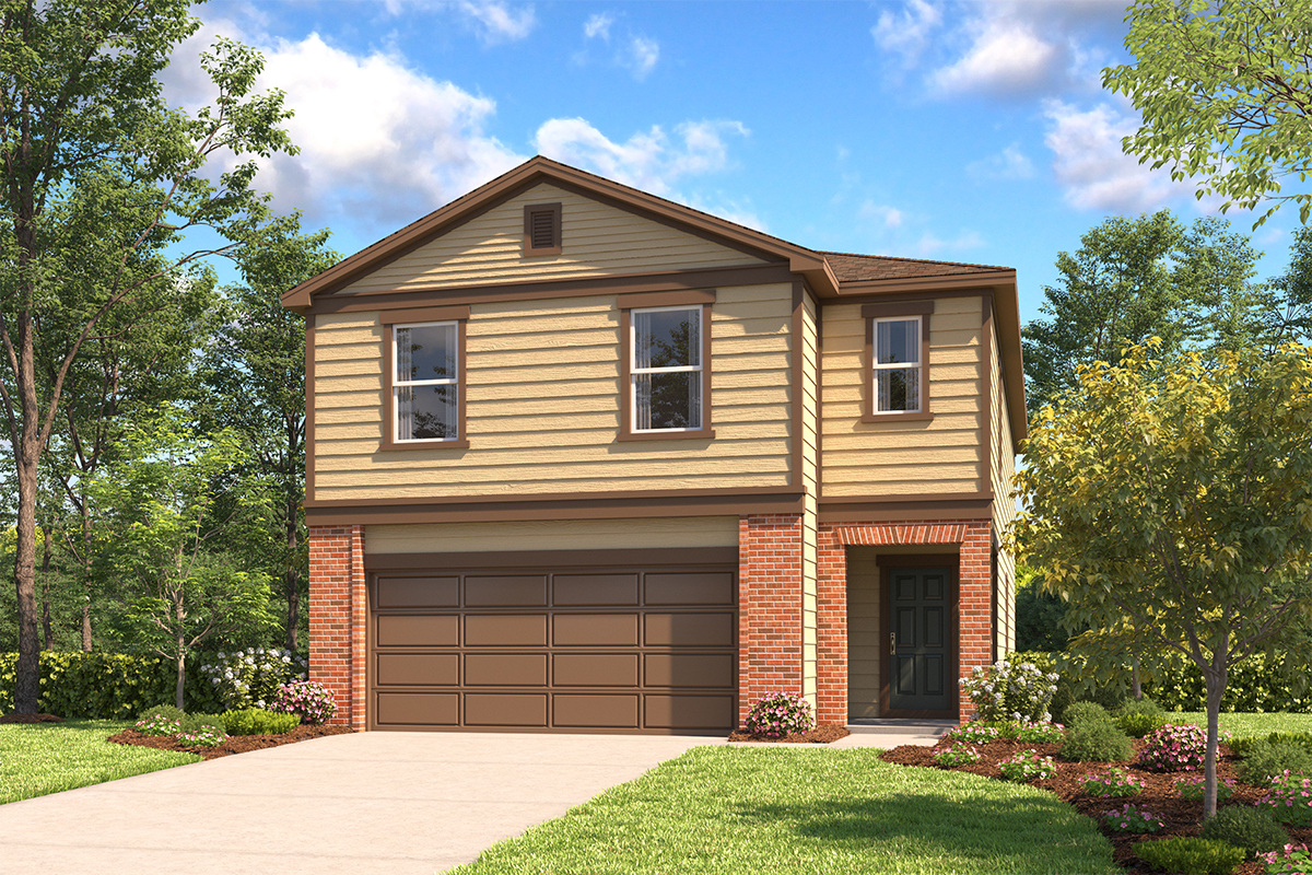 New Homes in San Antonio, TX - The 2314 B