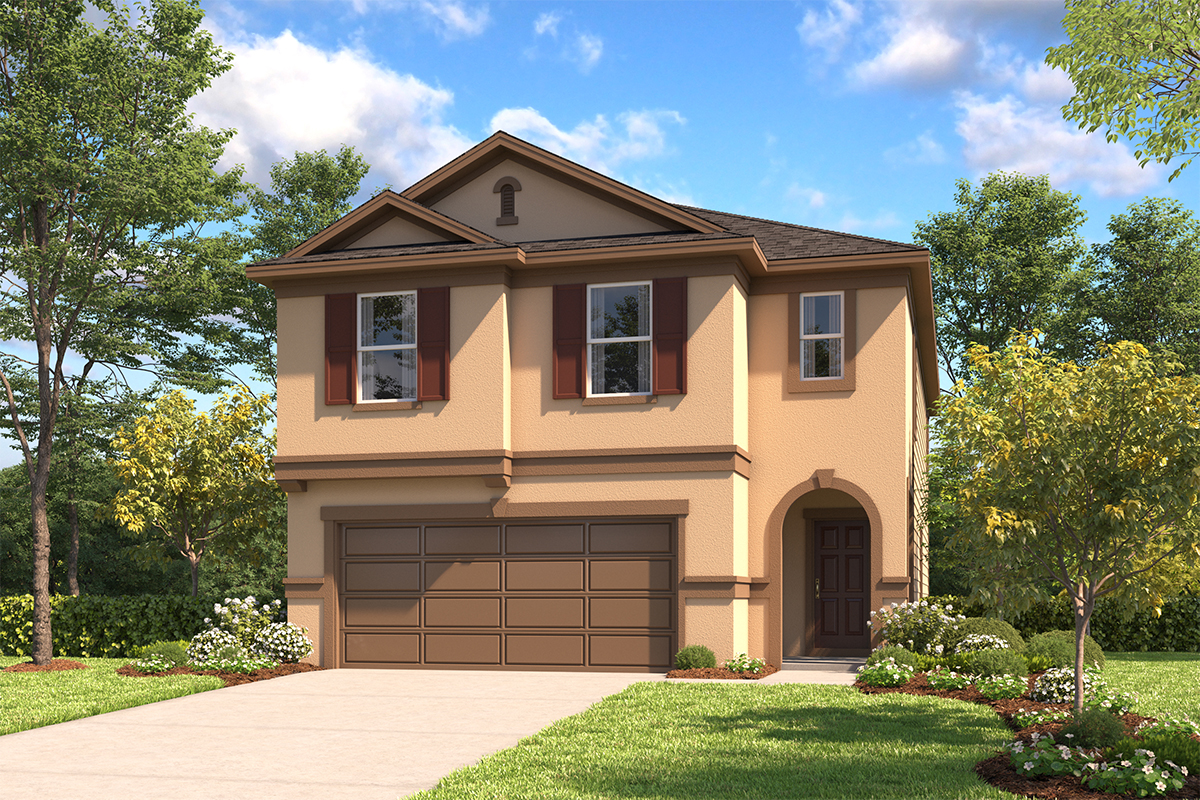 New Homes in Schertz, TX - Elevation D