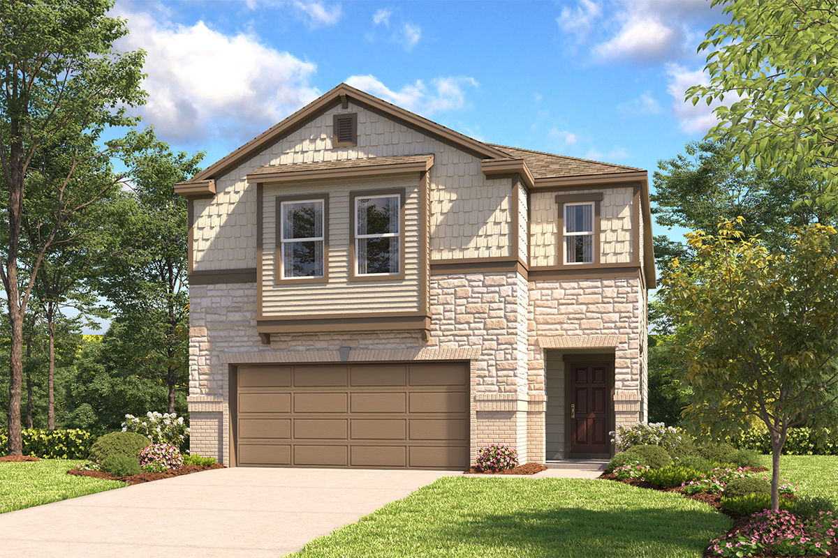 New Homes in Schertz, TX - Elevation E
