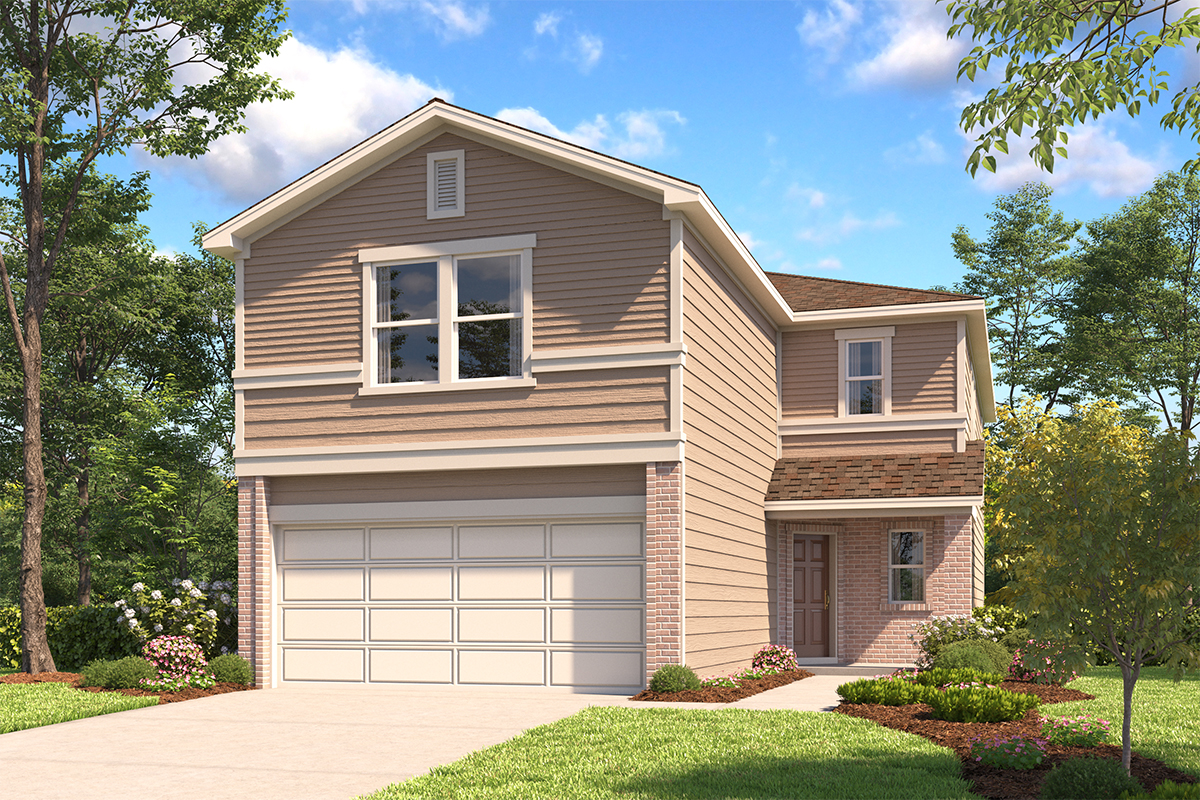 New Homes in San Antonio, TX - The 2450 B