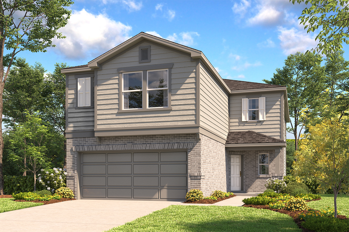 New Homes in San Antonio, TX - The 2450 C