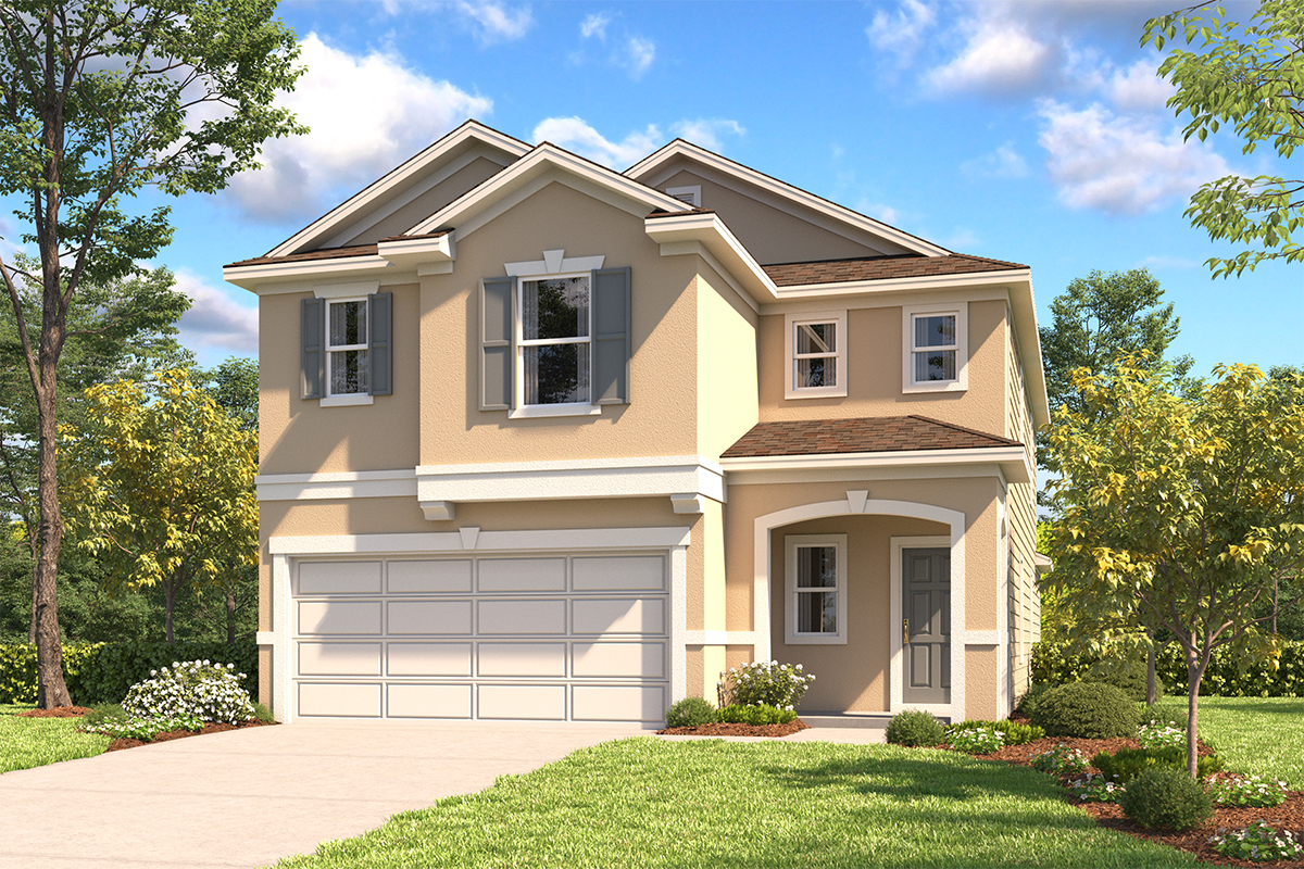 New Homes in San Antonio, TX - The 2519 D