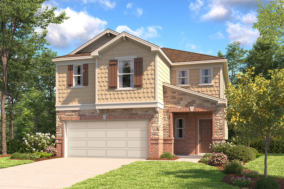 New Homes in San Antonio, TX - The 2519 E