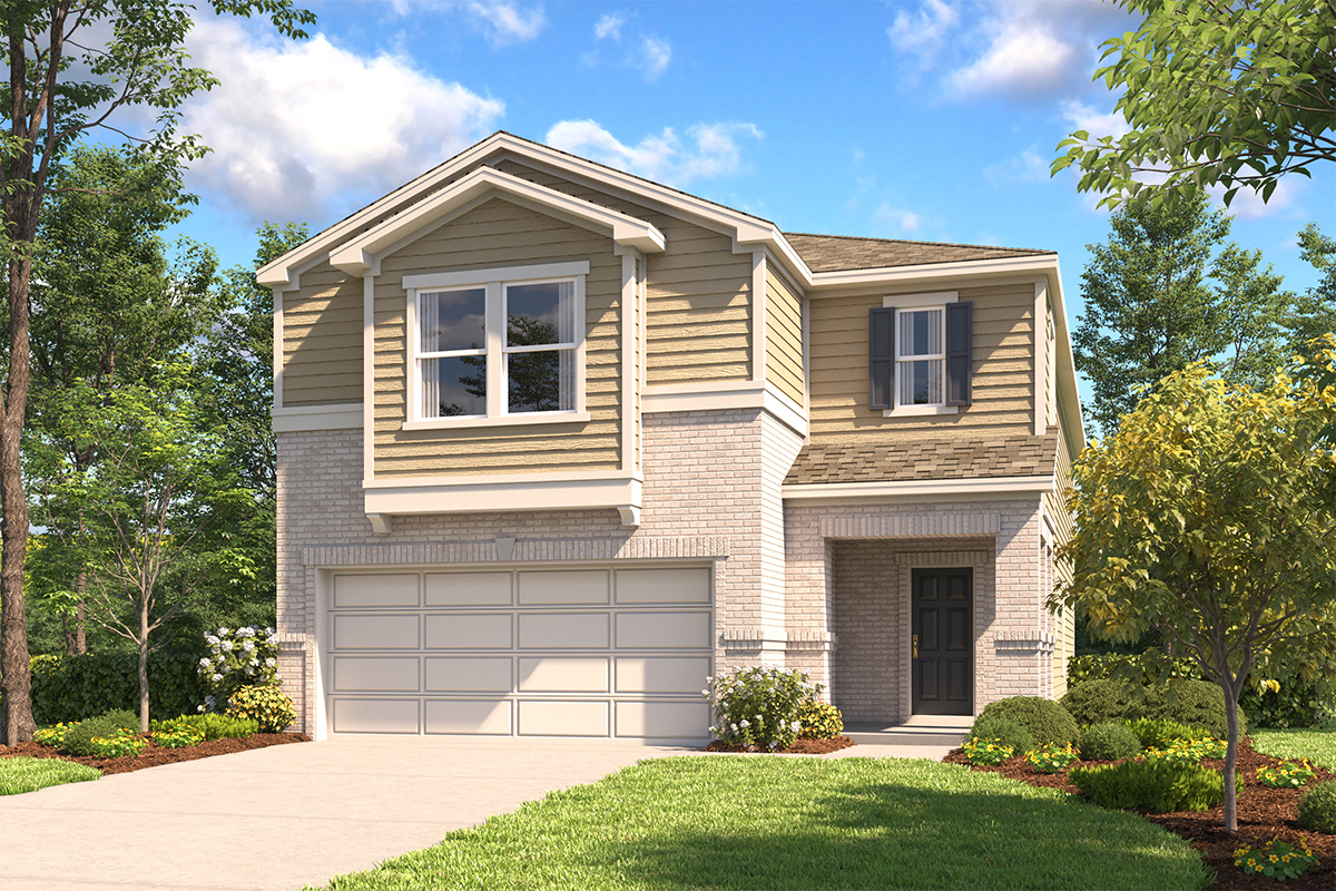 New Homes in Converse, TX - The 2745 C