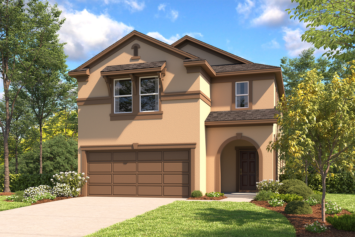 New Homes in San Antonio, TX - The 2745 D