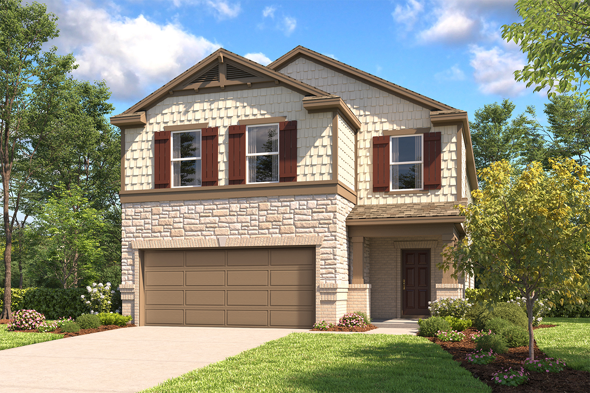 New Homes in New Braunfels, TX - Plan 2745