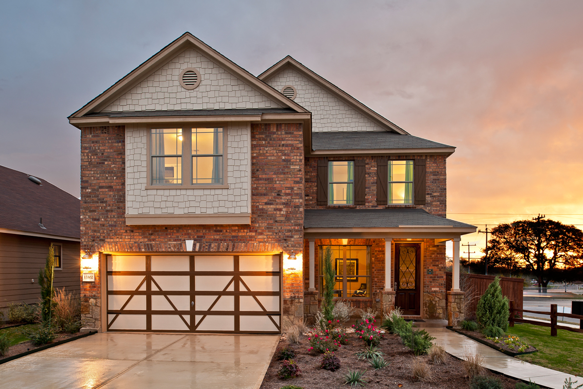 New Homes in Seguin, TX - Woodside Farms Plan 2177
