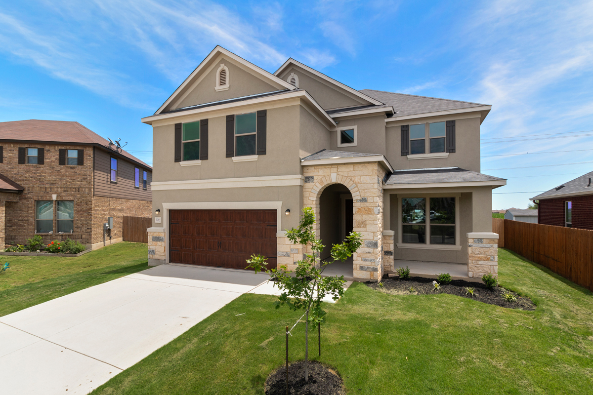 New KB quick-move-in homes available at West Village at Creekside - Classic Collection in New Braunfels, TX.  is one of many quick-move-in homes to choose from.