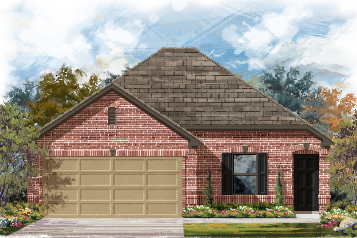 New Homes in Seguin, TX - The 1516 B