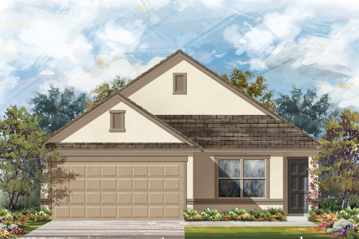 New Homes in Seguin, TX - Elevation E