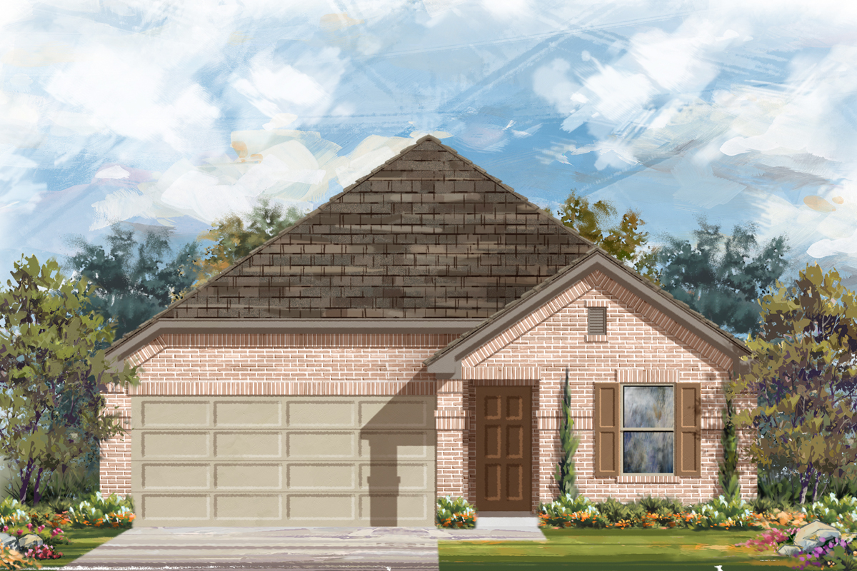 New Homes in Converse, TX - The 1647 B