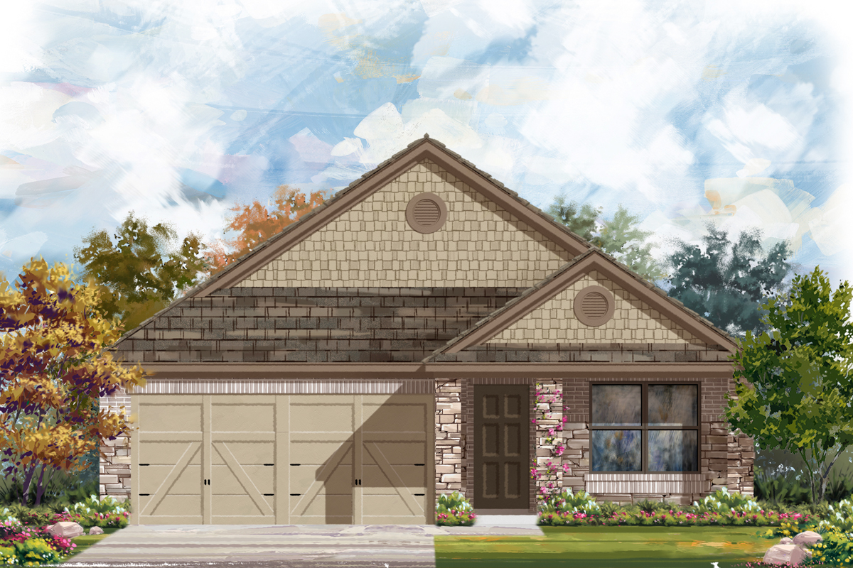 New Homes in San Antonio, TX - The  1647 D