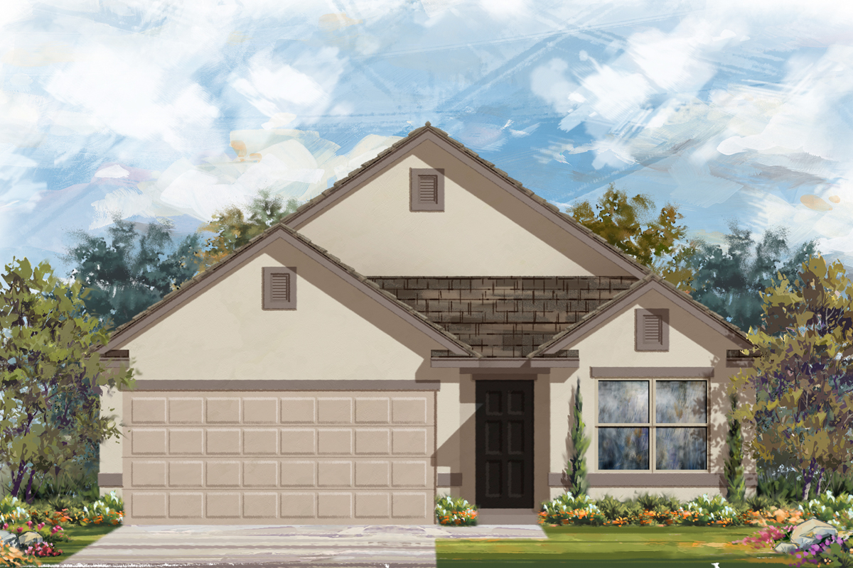 New Homes in San Antonio, TX - The 1647 E