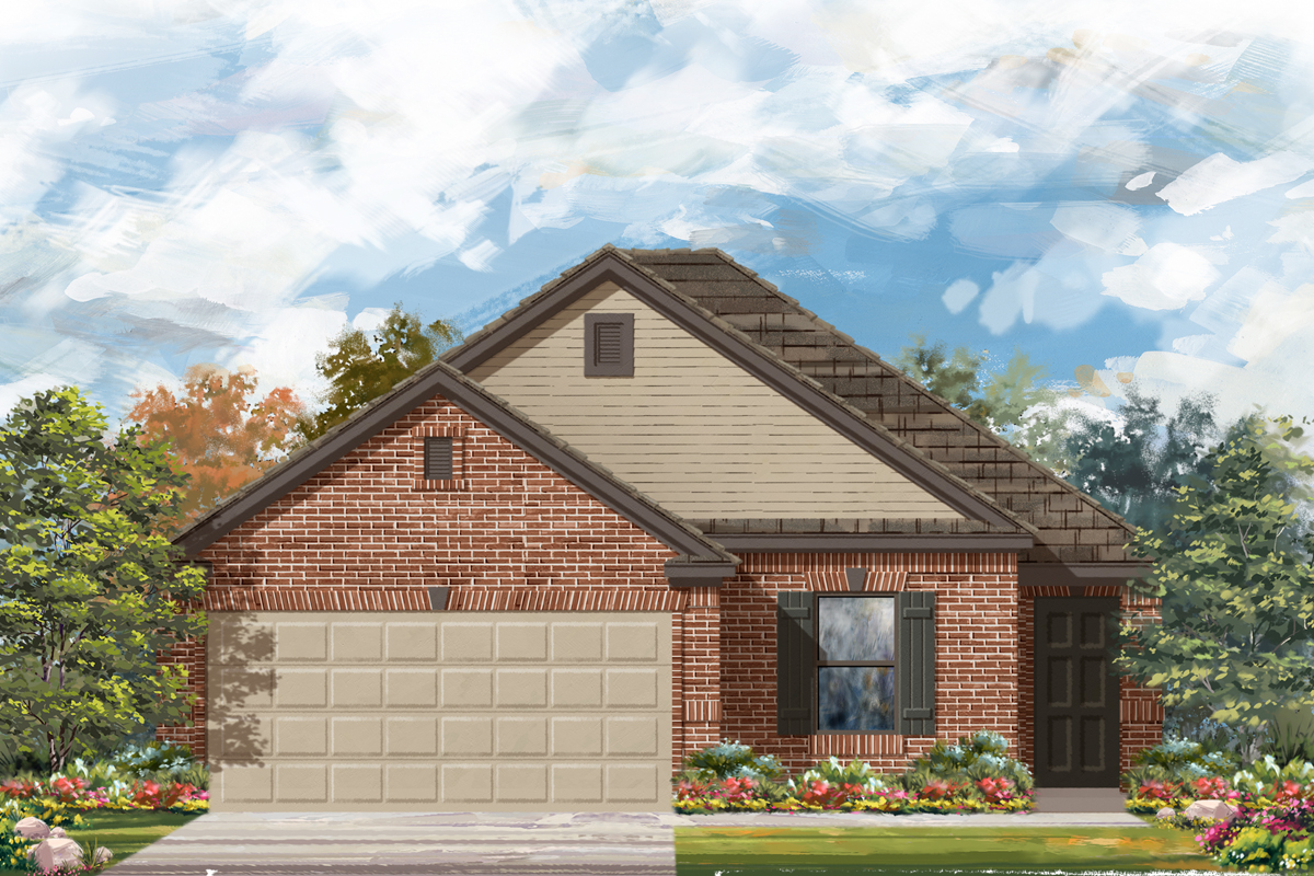 New Homes in San Antonio, TX - The 1694 C