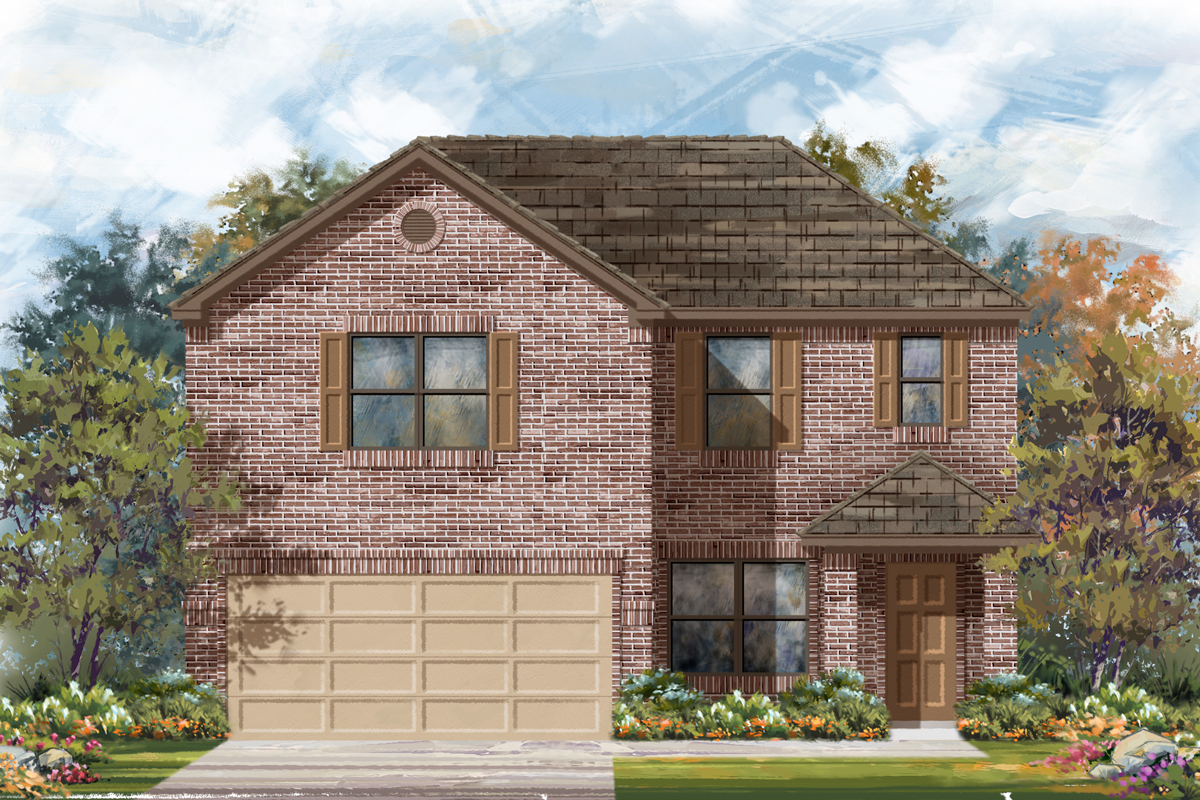 New Homes in Converse, TX - Plan 2177 B