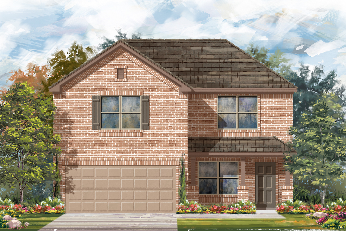 New Homes in Converse, TX - Plan 2177 C