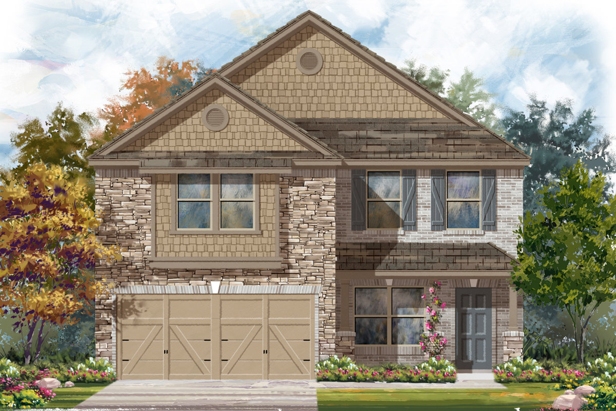 New Homes in New Braunfels, TX - The 2177 J