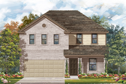New Homes in New Braunfels, TX - The 2403 I