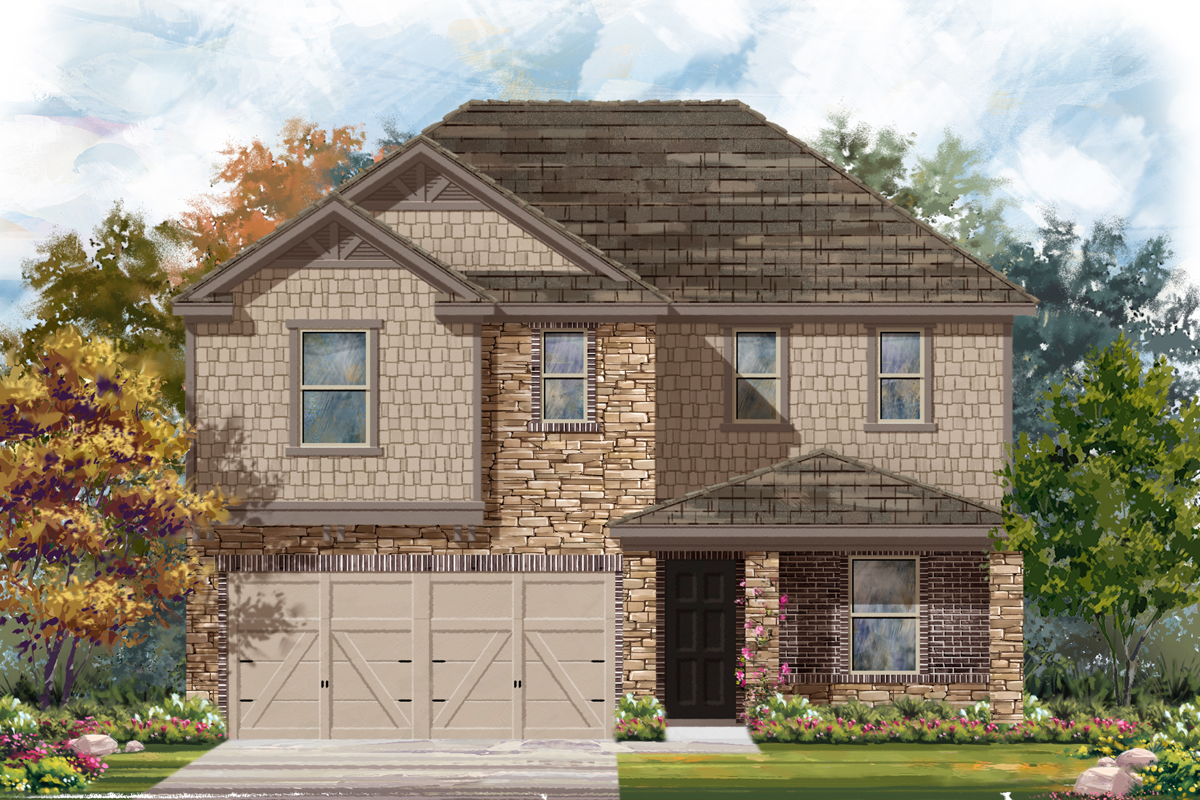 New Homes in Helotes, TX - Plan 2403