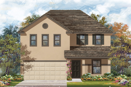 New Homes in New Braunfels, TX - The 2403 K