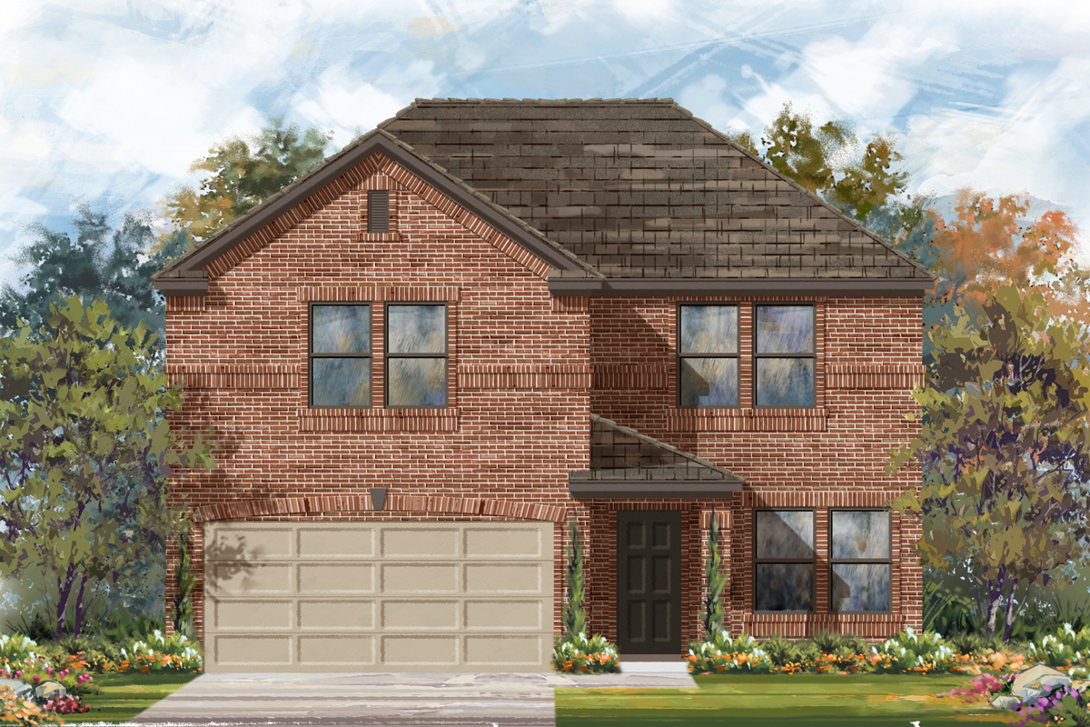New Homes in Seguin, TX - The 2561 B