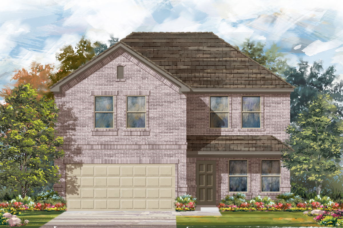 New Homes in Seguin, TX - The 2561 C
