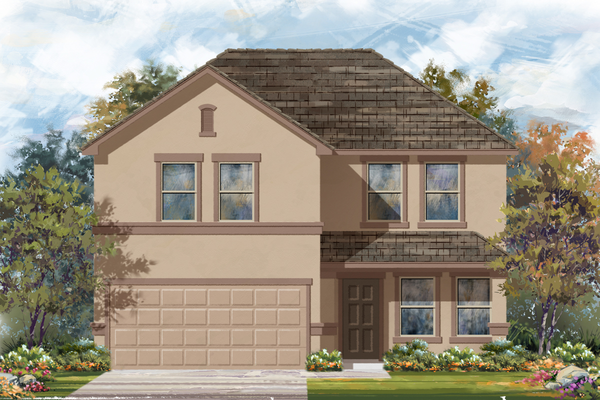 New Homes in Seguin, TX - The 2561 E