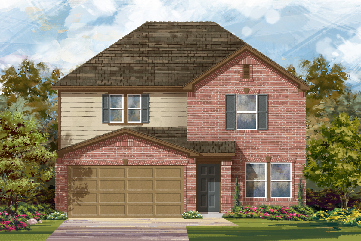 New Homes in Seguin, TX - The 2700 B