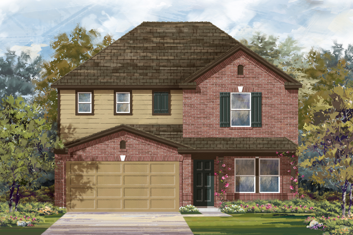 New Homes in Seguin, TX - The 2700 C