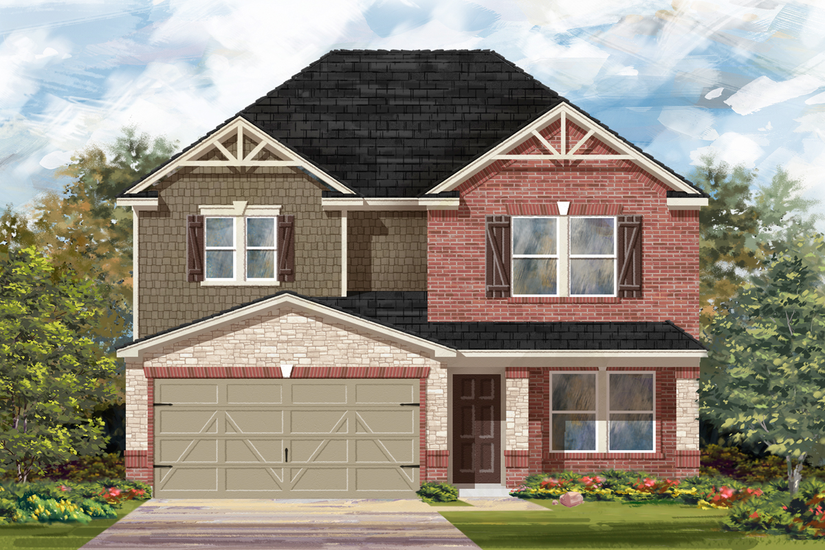 New Homes in Seguin, TX - The 2700 D