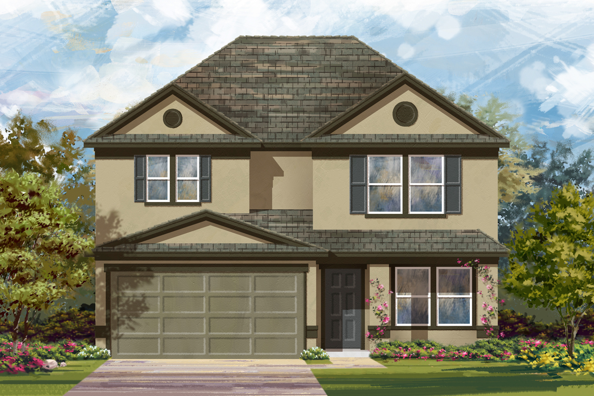 New Homes in New Braunfels, TX - The 2700 K