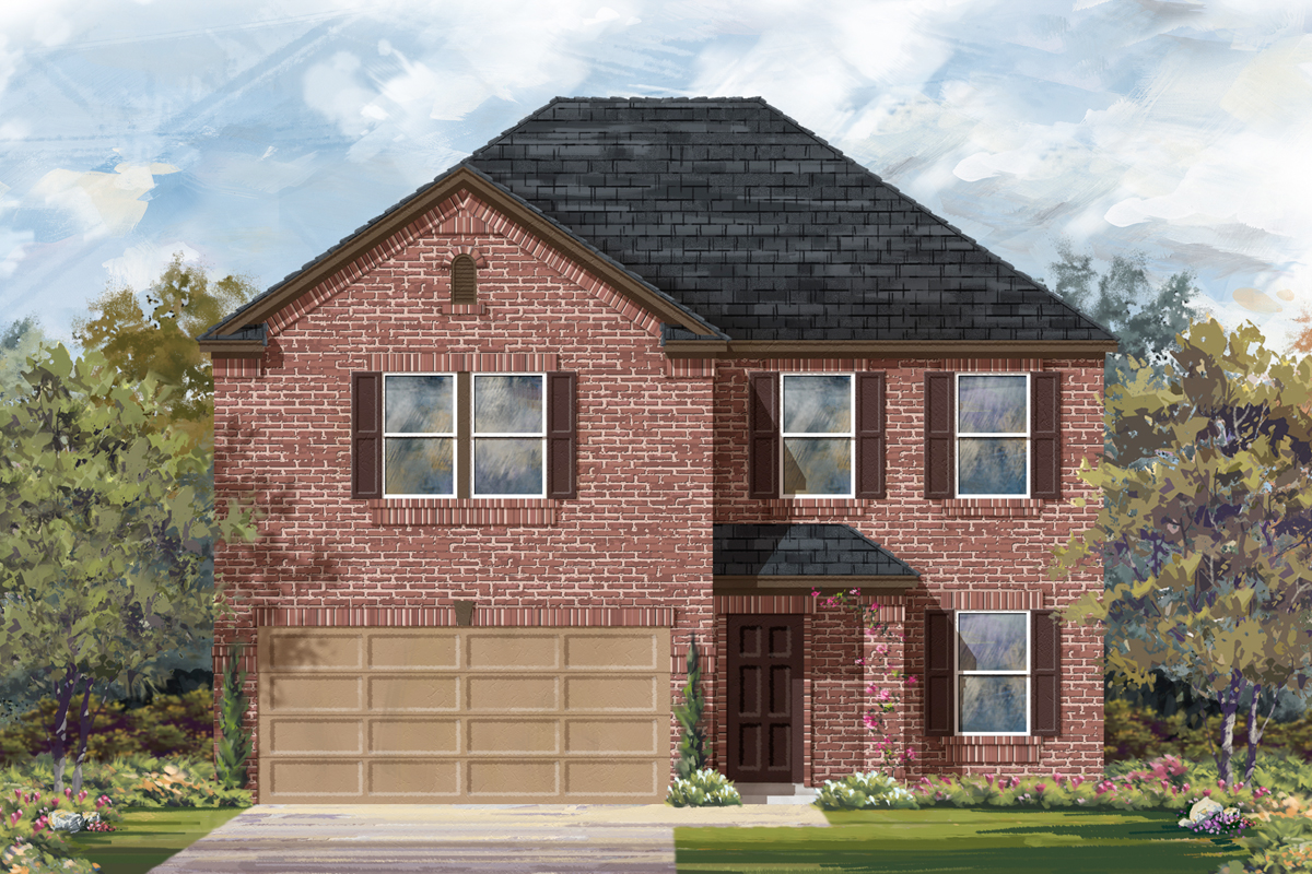 New Homes in San Antonio, TX - The 2898 B