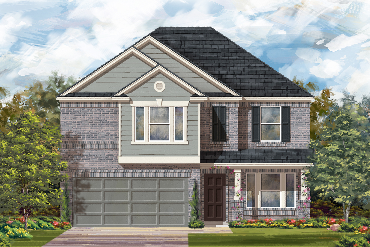 New Homes in New Braunfels, TX - The 2898 I