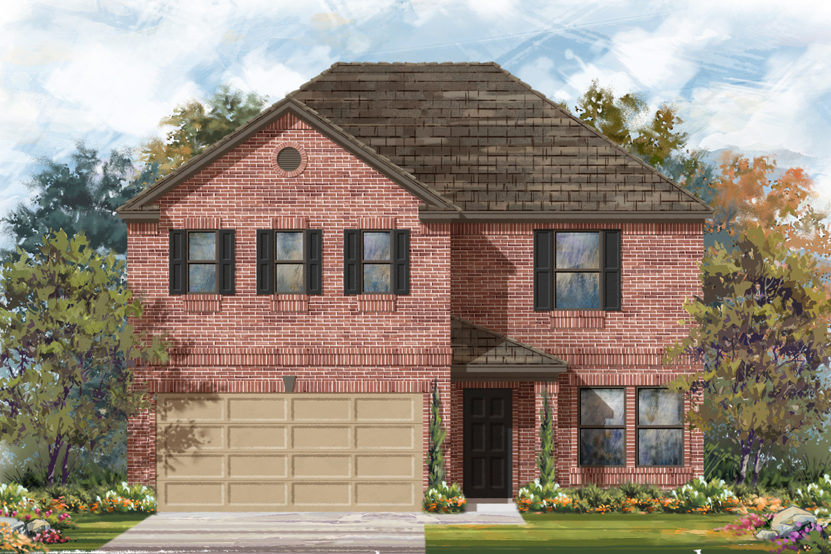 New Homes in Seguin, TX - Elevation B