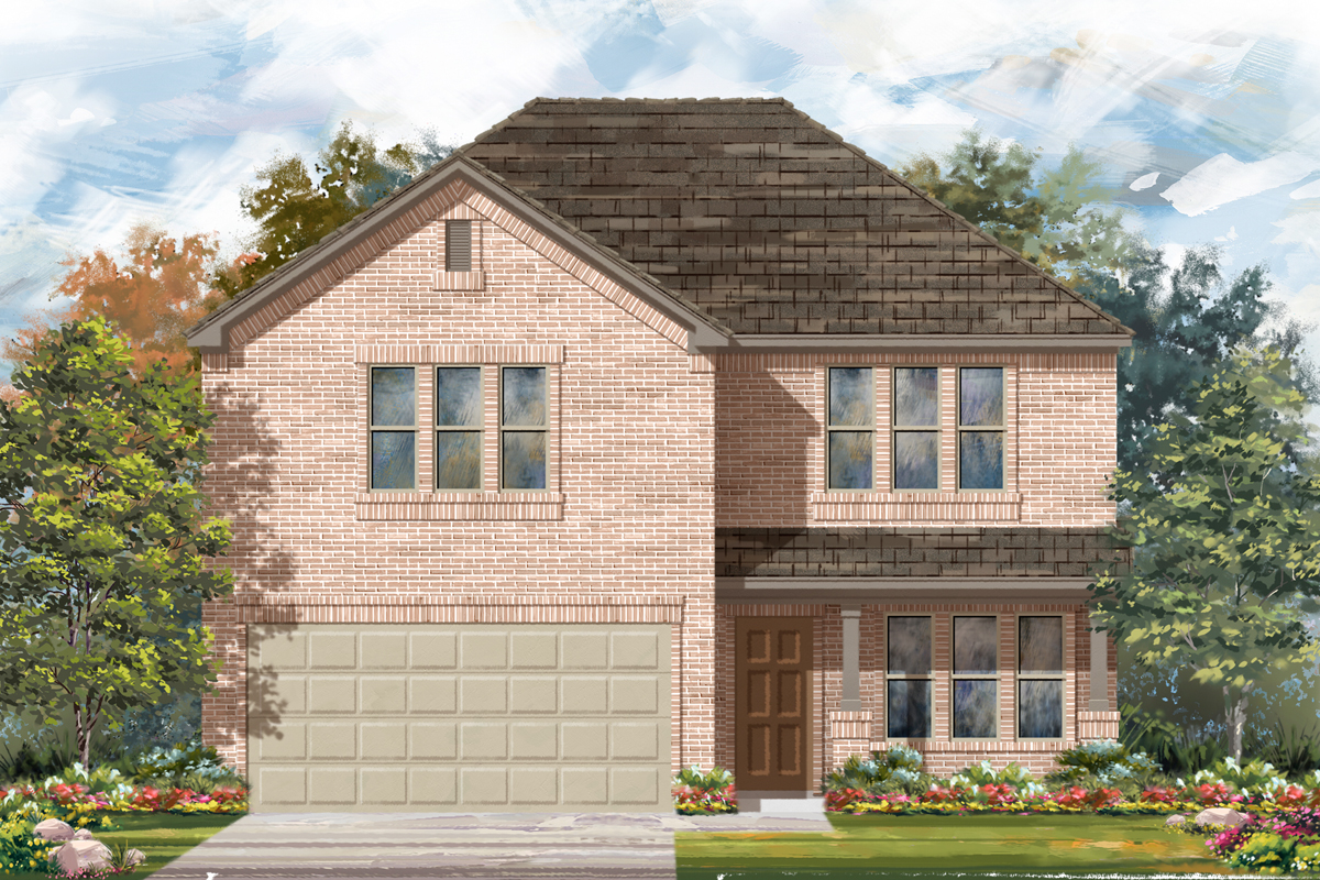 New Homes in Seguin, TX - Elevation C