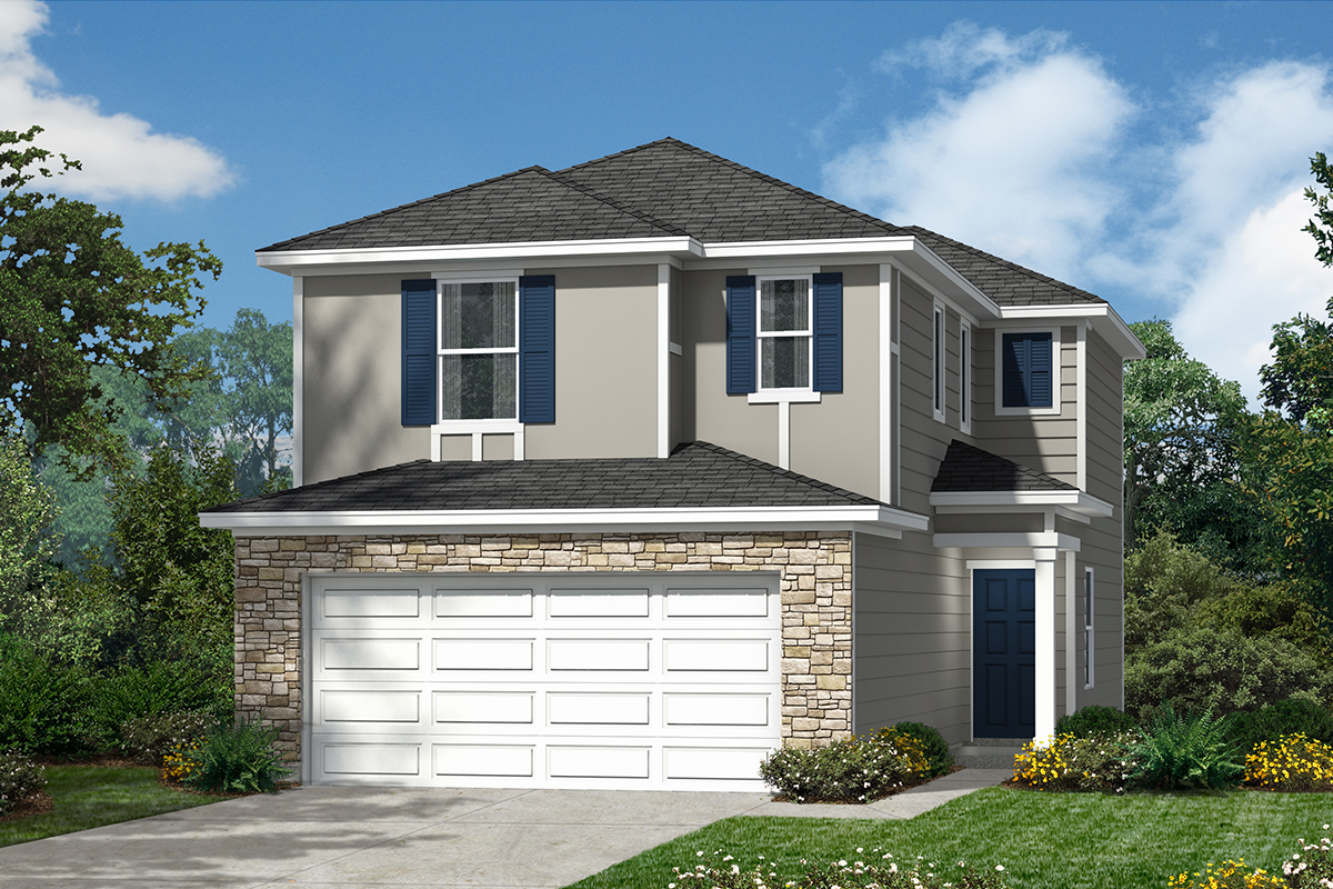 New Homes in San Antonio, TX - The Garrison Plan 1373 Elevation E