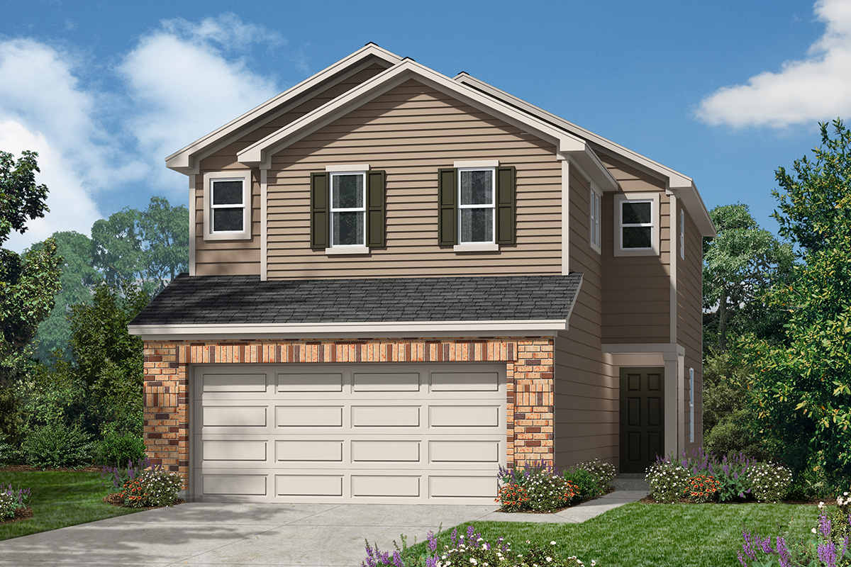New Homes in San Antonio, TX - 5911 Eckhert Elevation D