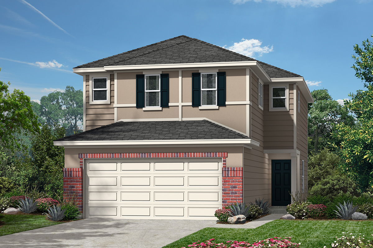 New Homes in San Antonio, TX - The Garrison Plan 1520 Elevation F