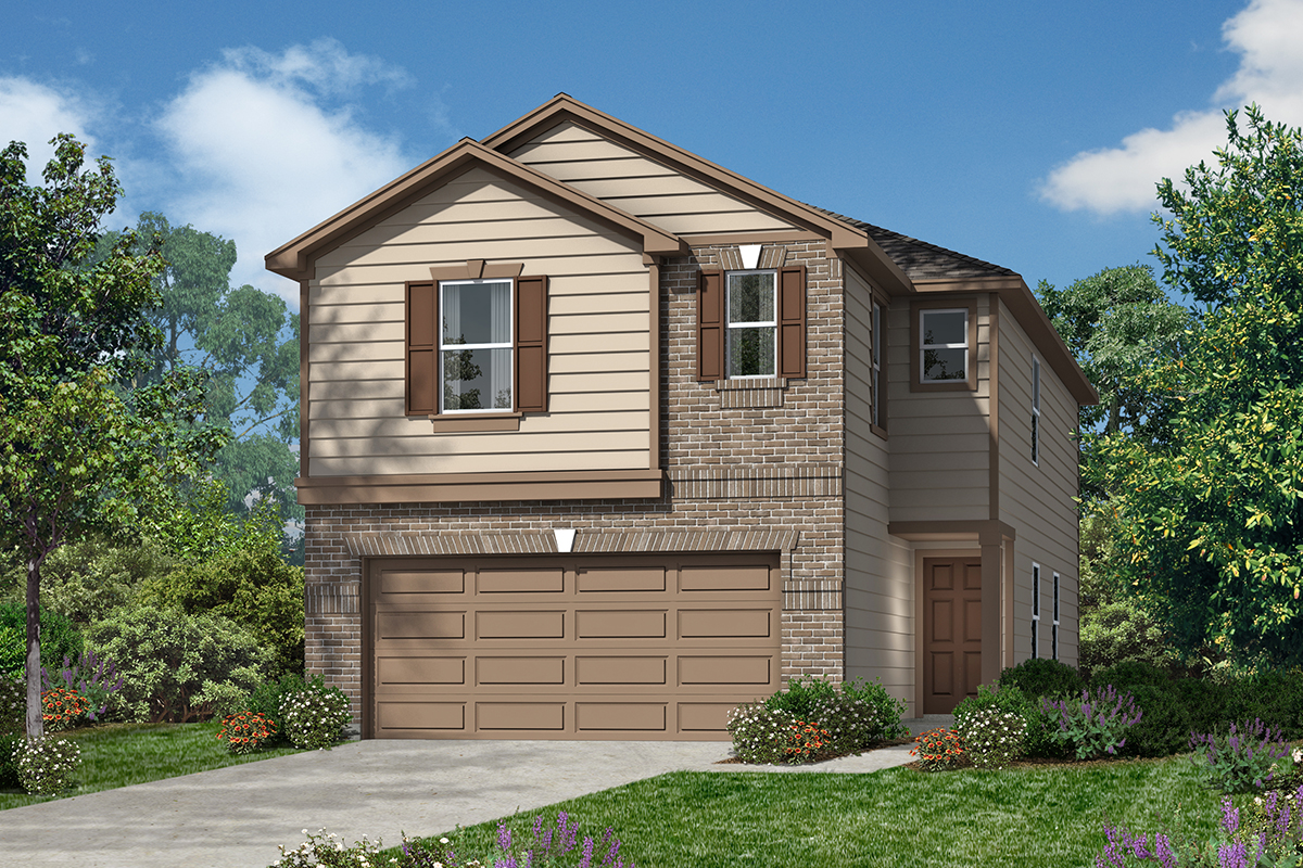 New Homes in San Antonio, TX - The 1855 D